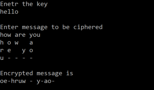 C-code-to-encrypt-and-decrypt-a-message-using-Transposition-cipher